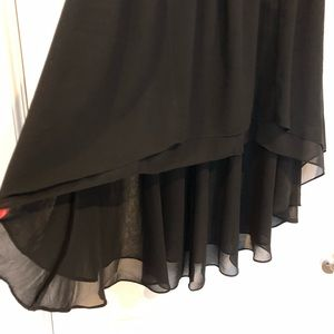 Anthropologie Skirts - Black Flowy Skirt Anthropologie